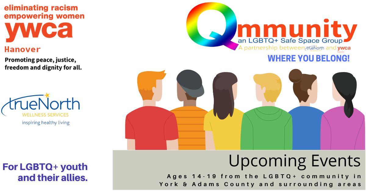 Qmmunity for LGBTQ+ Youth & Their Allies @ YWCA Hanover
